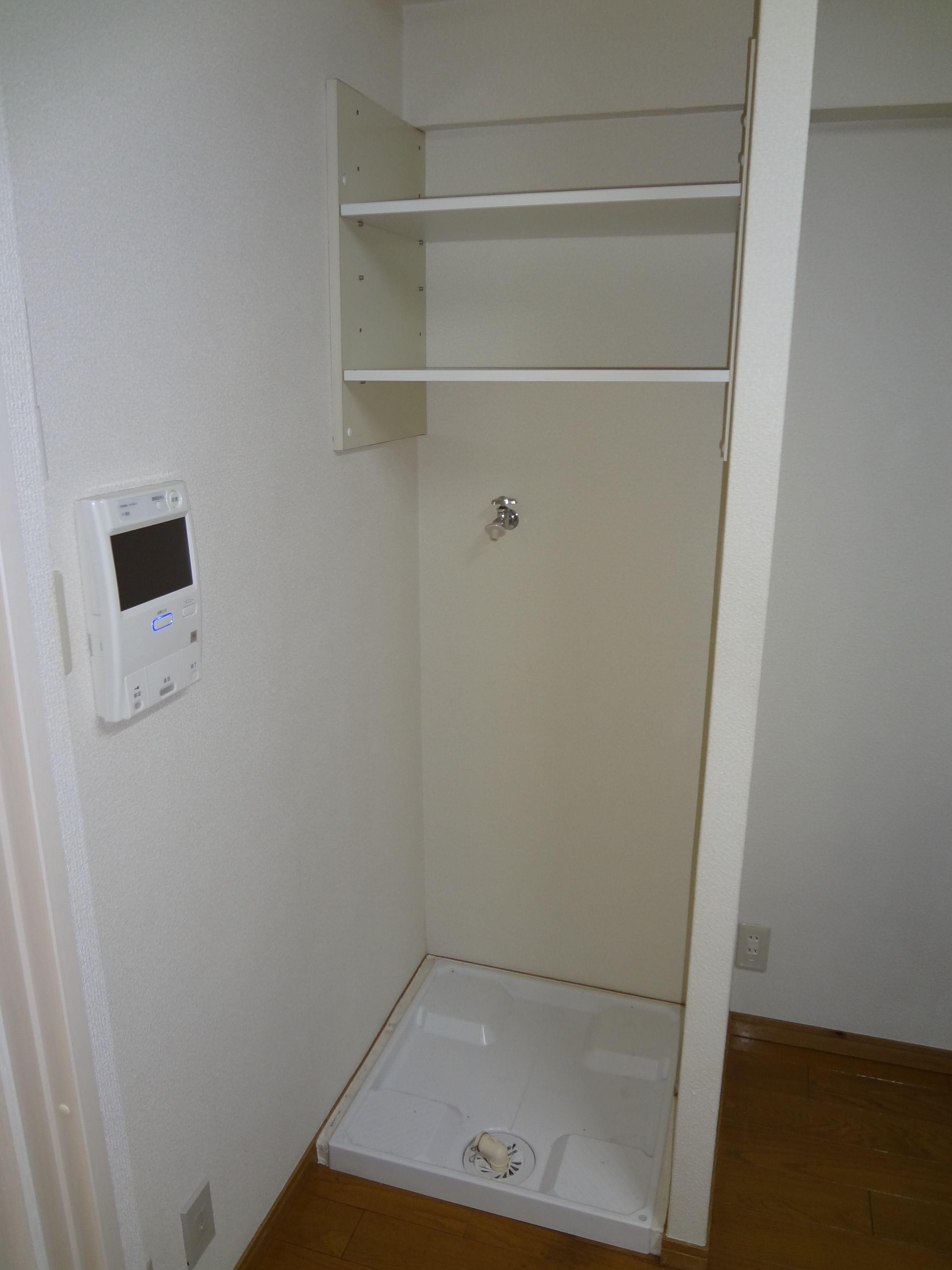 ★室内洗濯機置場★