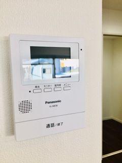 TVモニター付きインターホン!!