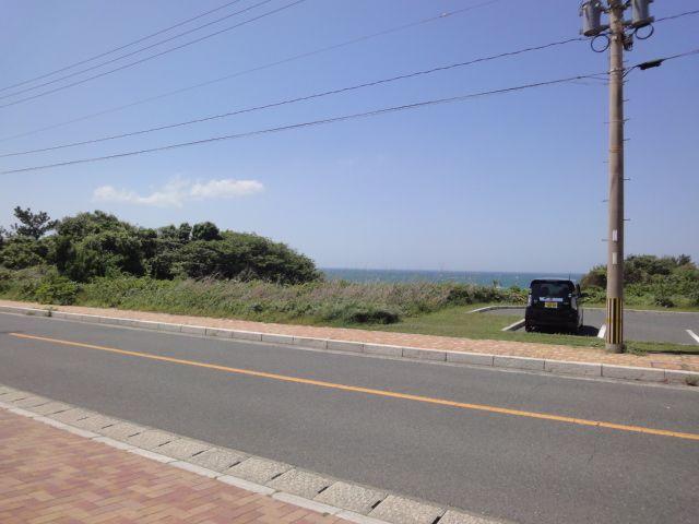 海岸沿いの海が見える立地!!